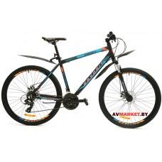 Велосипед  двухколесный FAVORIT модель PROFI 27,5 Китай (черно-голубой, черно-белый)