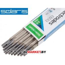 Электроды Е6013 ф 3,2мм (уп. 1,0кг) (аналог МР-3) SOLARIS (WM-E6013-32010)
