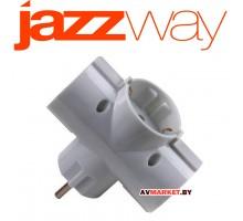 Переходник-разветвитель AD-3G-R JAZZway 4897062853363
