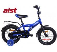 """Велосипед 14"""" двухкол. для детей Aist STITCH синий 2020 4810310007691 РБ"""
