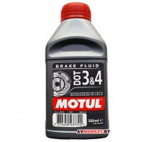Тормозная жидкость Motul DOT 3&4 500мл Германия 102718