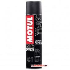 Очиститель для мотоцепей Motul C1 CHAIN CLEAN 400мл 102980