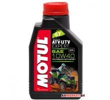 Масло Motul ATV-UTV EXPERT 4T 10W40 1 л моторное, полусинт для 4-х т двигат квадрациклов