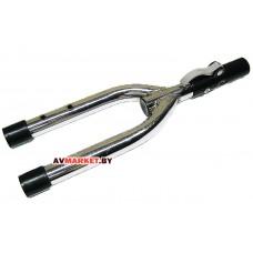 Вилка нижней части ручки управления для детского трехколесного велосипеда