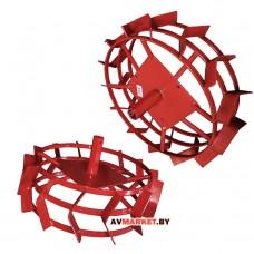 Грунтозацепы комплект ф 540/460мм шир. 160мм 6-гр втулка 26мм 3 обруча ВРМЗ