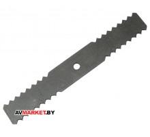 Нож Нива зубчатый 200*15 из-15(25) РФ