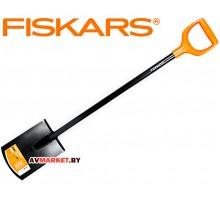 Лопата штыковая с закругленным лезвием FISKARS Solid 1026683