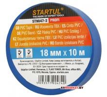 Изолента ПВХ 18мм*10м синяя STARTUL PROFI (ST9047) Китай