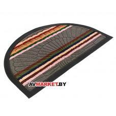 Коврик придверный Comfort 45х75 см полукруг серый VORTEX 22387 Китай