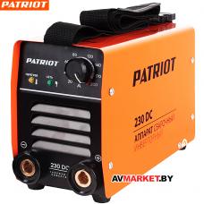 Аппарат сварочный PATRIOT 230DC MMA 605302520