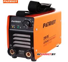 Аппарат сварочный PATRIOT 250DC MMA Кейс 605302521