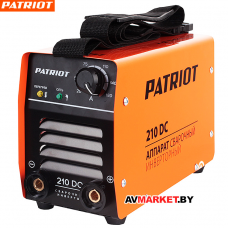 Аппарат сварочный инверторный PATRIOT 210DC MMA 605302518