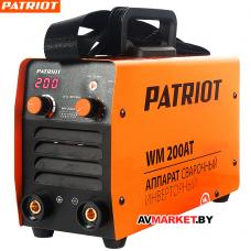 Аппарат сварочный инверторный PATRIOT WM 200AT MMA 605302620