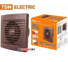 Вентилятор бытовой настенный 150C ЭКО бук TDM SQ1807-0106