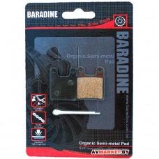 Колодки тормозные BARADINE DS-05 2169