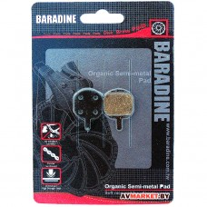Колодки тормозные BARADINE DS-26 2180