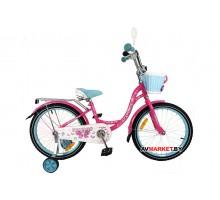 Велосипед дет двухкол FAVORIT мод BUTTERFLY BUT-18BL голуб Китай