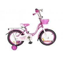 Велосипед дет двухкол FAVORIT мод BUTTERFLY BUT-16PN роз Китай