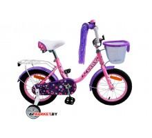Велосипед дет двухкол FAVORIT мод LADY LAD-14RS роз Китай
