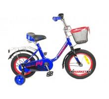 Велосипед дет двухкол FAVORIT мод NEO NEO-14BL син Китай