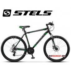 Велосипед 26-20 STELS NAVIGATOR 500 MD Россия (черно-зеленый)