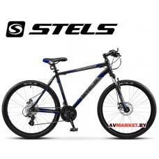 Велосипед 26-18 STELS NAVIGATOR 500 MD Россия (черно-синий)