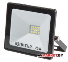 Прожектор светодиодный 20Вт 6500K IP64  ЮПИТЕР  артJP1201-20 Китай