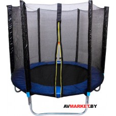 Батут с сеткой безопасности и лестницей (длинные стойки безопастности) 10 фунтов 10354L2YL Китай