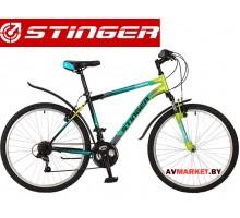 Велосипед Stinger 26 Caiman 16 зелёный TZ30/TY21/RS35 # 117272.26SHV CAIMAN 16GN7 Россия