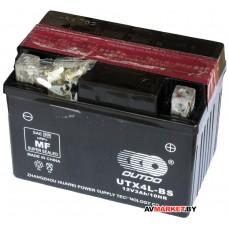 Аккумулятор CT12в 3А YTX4L-BS DC OUTDO 12V3Ah/10HR