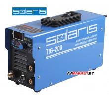 Инверторный аппарат аргонодуговый сварки SOLARIS TIG-200+AK (TIG-MMA),арт TIG-200