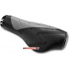 Грипсы (ручка на руль) DDK GP-550 черный/серый L-134мм 4525