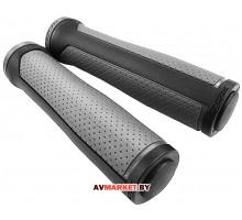 Грипсы (ручка на руль) DDK GP-5602 черный/серый 4528