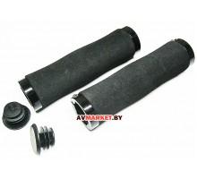 Грипсы (ручка на руль) HW 145210 L-135 черный 4606