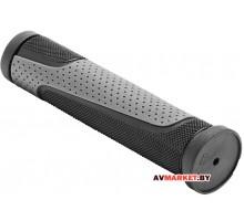 Грипсы (ручка на руль) MTB XH-G56B 125мм резина черно серые 4943