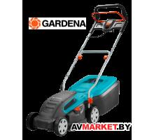 Газонокосилка электрическая Gardena PowerMax 1400/34 05034-20 (1,4кВт,34см,400м.кв,2-6см,40л) Китай