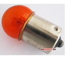 Лампочка 12V 10W Рос. желтая