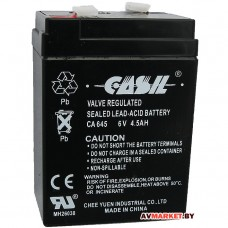 Аккумулятор CASIL / MHB MS 4,5-6 6V 4,5 А (гель) 70х47х101 CA645 Китай