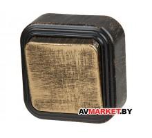 Выключатель 1 клав. открытый до 6A бронз Стандарт Юпитер JP7413-01