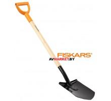 Лопата штыковая FISKARS с деревянным черенком 1026660 Финляндия