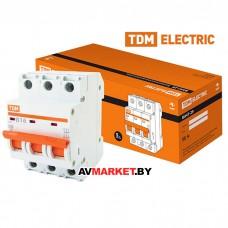 Автоматич. выключатель ВА47-29 3P 16A 4.5кА х-ка B TDM SQ0206-0042 Китай