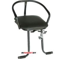 Седло (сиденье) велос. детское переднее на раму без ручки