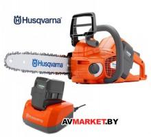 Husqvarna 436Li 12'' 3/8 1.1 с1 АКБ 110 и зарядным
