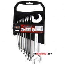 Набор ключей рожк. 6-22мм 8шт PRO STARTUL PRO-1008 матовый хром