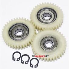 Шестерни редуктора для мотора электровелосипеда 3 шт 38*10 мм 36 зубьев