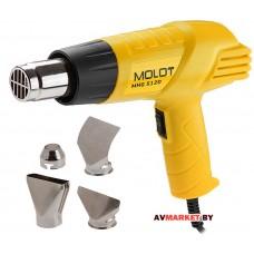 Термовоздуходувка MOLOT MHG 5120 в кор. + набор сопл Китай MHG5120K0022