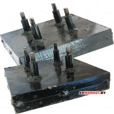 Комплект (2шт)утяжилителей для мотоблока(13,5кг- 1шт) (универсальные) РБ