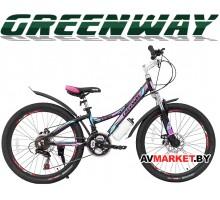 """Велосипед GREENWAY 4930M 24"""" горный для взрослых Китай"""