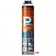 Пена монтажная пистолетная всесезонная P PLUS PISTOL FOAM MEGA 67L,65L (980г) 01-0-0-034