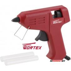 Пистолет клеевой WORTEX GG 0710-1 в блистере +2 клеевых стержня GG071010011 Китай
